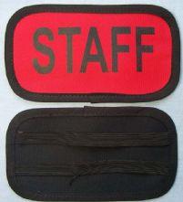 Elastic Back Staff Armband